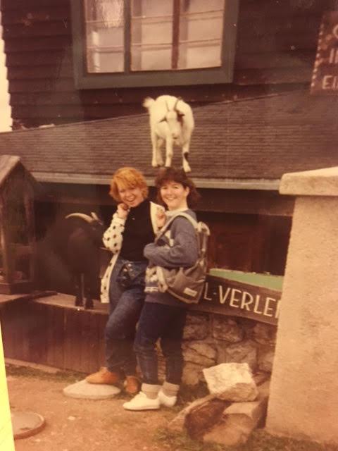 Marie and Elizabeth Circa 1988